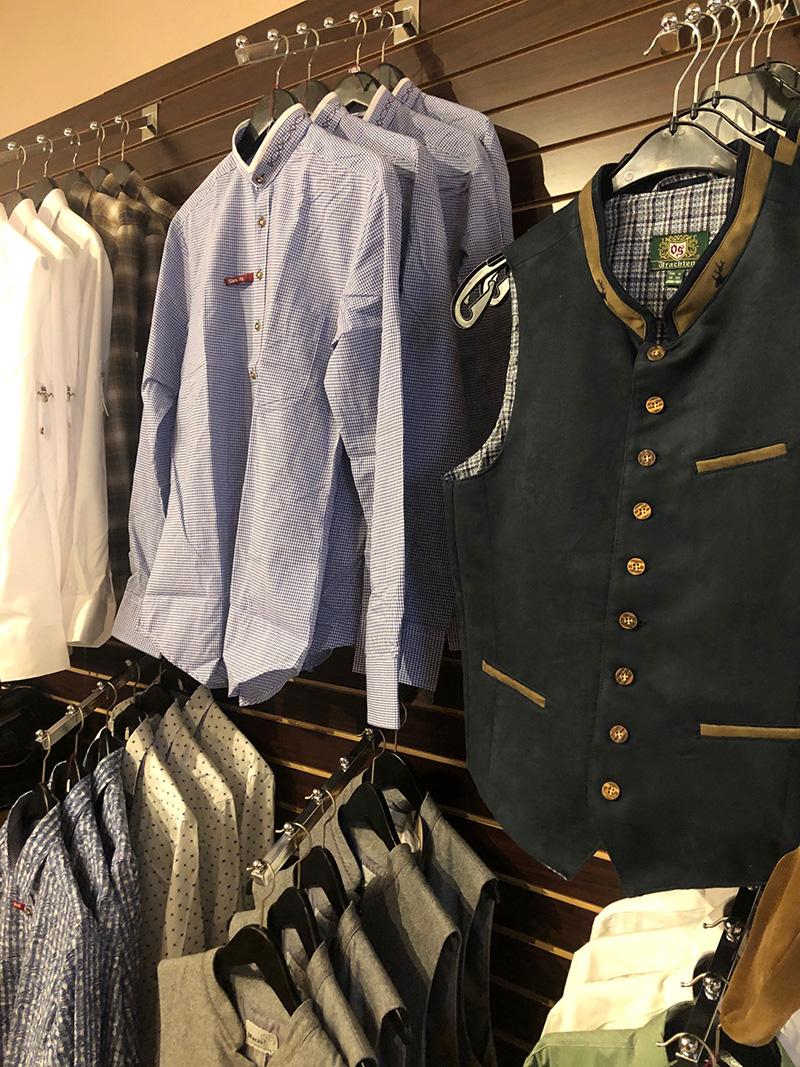 dress shirts and vests